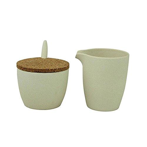 zuperzozial Dash & Dulce Milch- und Zucker-Set, Weiß