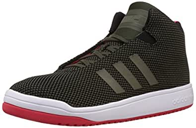 adidas Originals Men's Veritas Black, Pink and White Sneakers - 8 UK