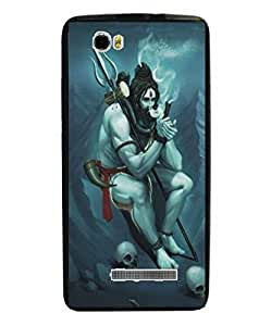 Techno Gadgets Back Cover for Lava A71