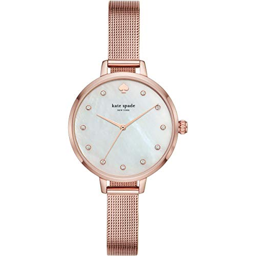 Kate Spade New York Metro Montre à Quartz Or Rose