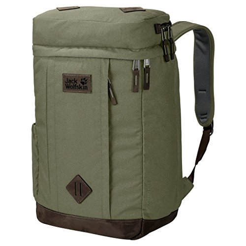 Jack Wolfskin Leicester Square Rucksack, Khaki, ONE Size