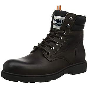 Tommy Hilfiger Herren Casual Leather Boot Klassische Stiefel