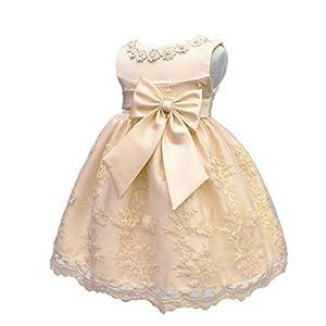bautismos: LZH Bebé Infantil Niñas Vestido de Bautizo de Cumpleaños Bautismo Vestido de Ban...