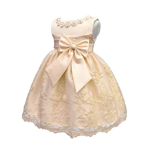 07b231375 LZH Bebé Infantil Niñas Vestido de Bautizo de Cumpleaños Bautismo Vestido  de Banquete de Boda