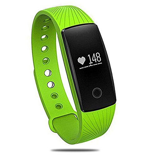 [Nuovo Rilascio] Braccialetto Fitness,PALADY ID107 Touchscreen OLED Fitness Tracker Cardio