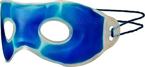 M&H-24 Augen-Gelmaske Entspannungsmaske Augenmaske Gel Kühlmaske - für Kältetherapie Wärmetherapie