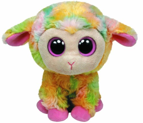TY 36974 - Beanie Boos Blossom Buddy - Lamm Plüschtiere, Large, 24 cm, bunt