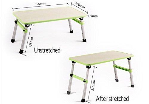 Laptop Table (Style Eva, Randomcolor) Foldable, Adjustable, Four Legs