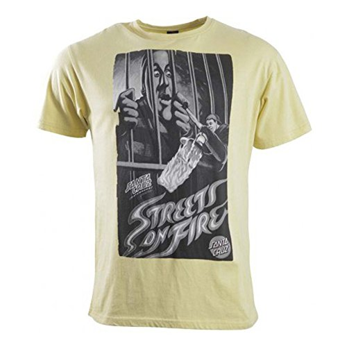 Santa Cruz Herren T-Shirt Custard