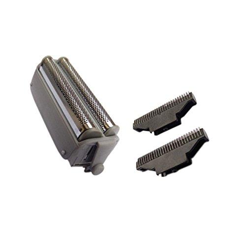 Meijunter Ersatz Innenschaufel Combo?Außenfolie for Panasonic RW30 ES9859/952 - Panasonic Outer Foil