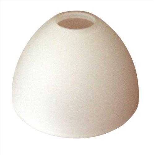 Glas Lampenschirme Stehlampen (LAMPENGLAS LAMPENSCHIRM E14 OPALFARBIG WEISS G3351-01 NEU)