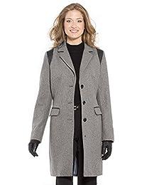 Balsamik - Manteau 3/4 laine majoritaire - femme