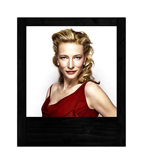 Schwarze Holzlampe Cate Blanchett