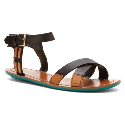 Dolce Vita-gladiator-sandalen (DV by Dolce Vita - Vita Damen , Weiá (Bone/Honey Leather), 37)