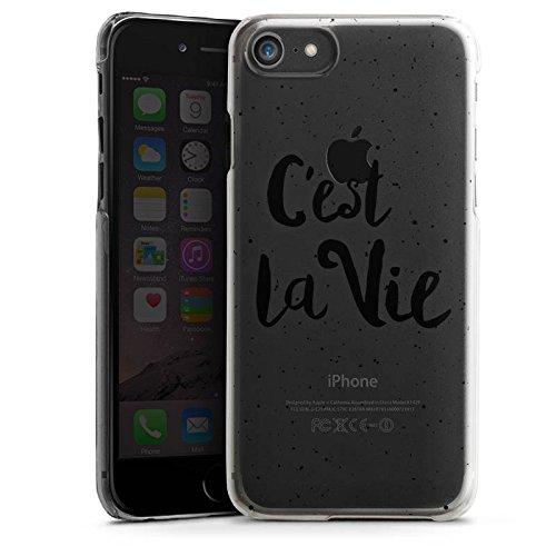 Apple iPhone 6 Silikon Hülle Case Schutzhülle C'est la vie Spruch ohne Hintergrund Hard Case transparent