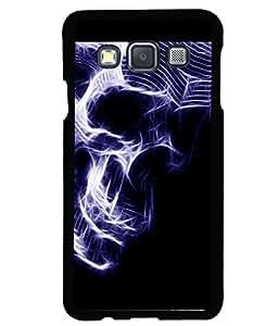 printtech Skull Artwork Back Case Cover for Samsung Galaxy A3::Samsung Galaxy A3 A300F