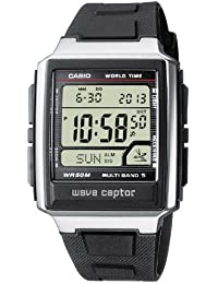 Casio Wave Ceptor – Herren-Armbanduhr mit Digital-Display und Resin-Armband – WV-59E-1AVEF