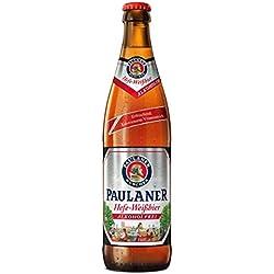Paulaner Hefe Weissbier Sin Cerveza - 500 ml - [paquete de 10]