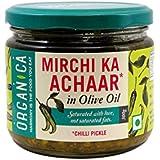 Organica Olive Oil Chilli Pickle, 300g