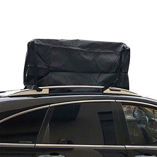 Faltbare wasserdichte Auto Dachbox 700 Liter, Auto-Anhängebock Frachttasche 25 Kubikfuß Robuste Gurte für Reisen und Gepäcktransport Auto, LKW, SUV