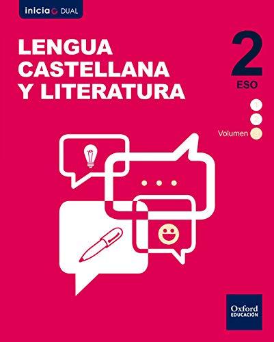 Inicia Lengua Castellana Literatura 2.º ESO. Volumen