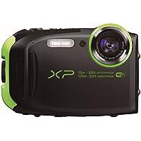 Fujifilm XP80 Appareil Compact Tout-Terrain 16Mp (BSI-CMOS) Zoom 5X (28-140mm), WiFi Contrôle à Distance, Graphite Noir