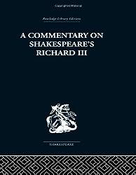 Commentary on Shakespeare's Richard III