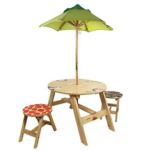 Fantasy Fields Extérieur Table avec Deux Chaises, Sunny Safari