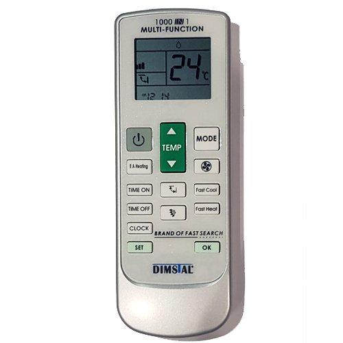 Alle Fernbedienungen (Universal Fernbedienung für Klimaanlage Klimagerät 1000 in 1 - Ersetzt alle Funktionen)
