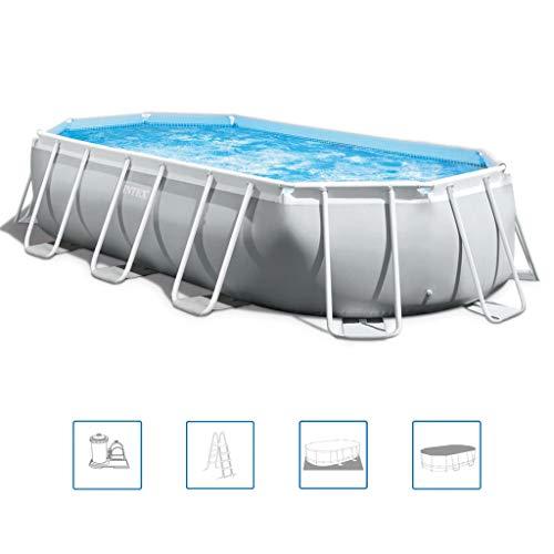 Intex 16.5'X9'X48 Prism Frame Oval Pool Set