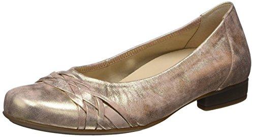 Gabor Shoes Damen Comfort Geschlossene Ballerinas, Beige (Rame 68), 42 EU