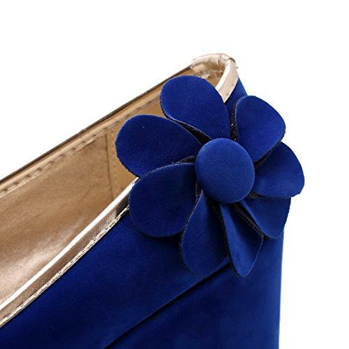 Balamasa, Para Mujer, Con Tacones Altos, Bombas Azules