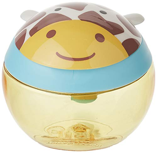 Skip Hop 252568 Zoo Snackcup, Snackbox, Aufbewahrungsbehälter für Kinder, mehrfarbig, Giraffe Jules