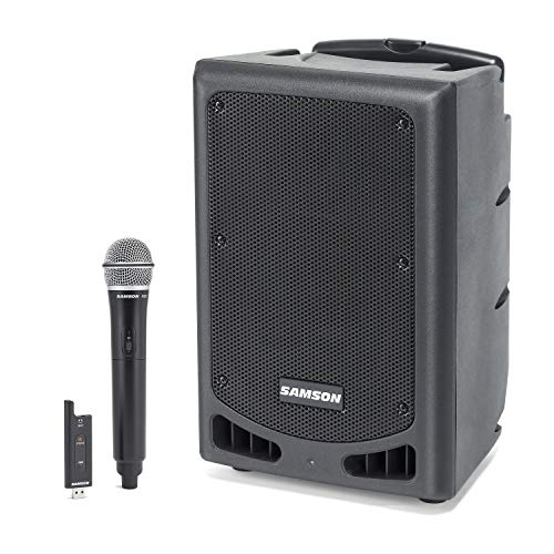 Expedition XP208w Rechargeable Portable PA system-PA SPEAKER Digital Portable Speaker System