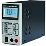 ALIMENTATION DE LABORATOIRE A DECOUPAGE CC 0-60 VCC / 0-5 A MAX / AVEC AFFICHEUR LED