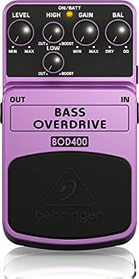 Behringer BOD400 - Pedal de efecto overdrive para bajo