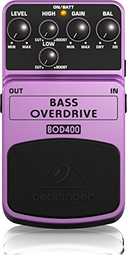 Behringer Bass Overdrive BOD400 - Effetti a pedale overdrive