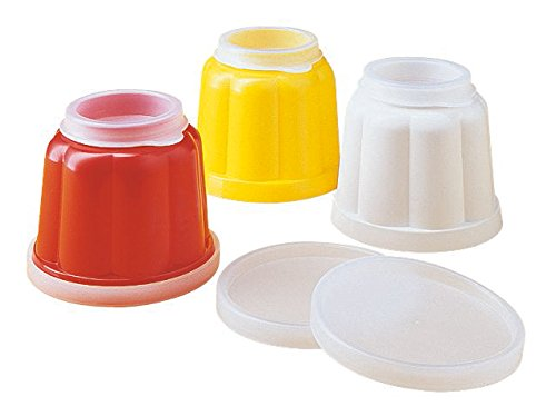 Dr. Oetker 1646 - 6 moldes para pudding con tapa