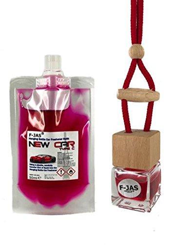 Preisvergleich Produktbild F-JAS Auto-Lufterfrischer zum Aufhängen in Flaschenform, mit Nachfüll-Set