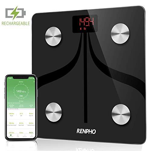RENPHO Báscula Grasa Corporal Inteligente Bluetooth