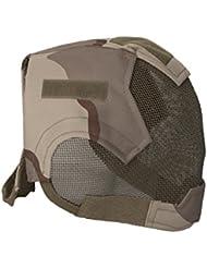 ALEKO pbm219ds Air suave máscara de cara completa malla de alambre de protección completa para la cara, diseño de desierto