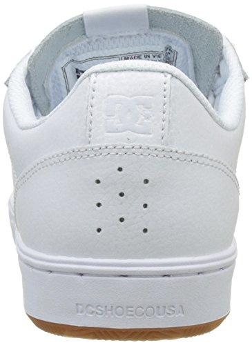 DC Shoes Astor, Sneakers Basses Homme Blanc (White/Gum)