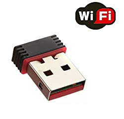 Technotech 150Mbps USB 2.0 Wireless WiFi Network Adapter Dongle Receiver 2.4Ghz 802.11B/G/N
