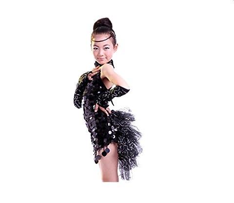 Danse du ventre Vêtements Pratiquer les vêtements Ensemble Dentelle Jupe courte Costumes Service de pratique , black ,