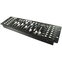 Control de luces de disco con efectos DJ, 192canales DMX 512