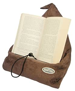 The Book Seat Book Holder And Travel Pillow Mocha