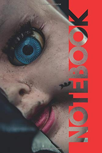 Notebook: Creepy Dolls Charming Composition Book for Lovers of Horror Films por Molly Elodie Rose