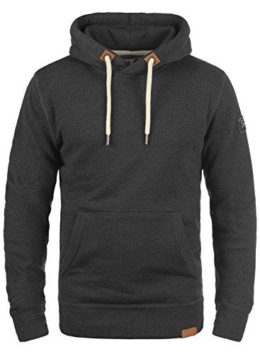 !Solid TripHood Herren Kapuzenpullover Hoodie Pullover Mit Kapuze Und Fleece-Innenseite, Größe:XL, Farbe:Dark Grey Melange (8288) Fleece-pullover Golf