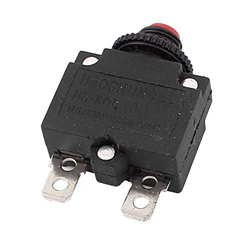 AC 125V/250V 10A Luftkompressor thermische Überlast Schutz Schutzschalter DE de -