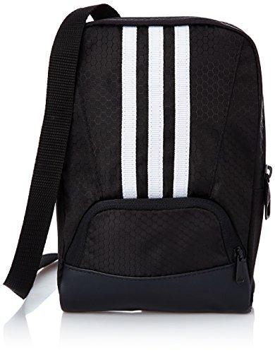 Preisvergleich Produktbild adidas Herren Rucksack 3-Stripes Performance Organizer, Black/White, 21 x 14 x 4 cm, 1.1 Liter, M67835